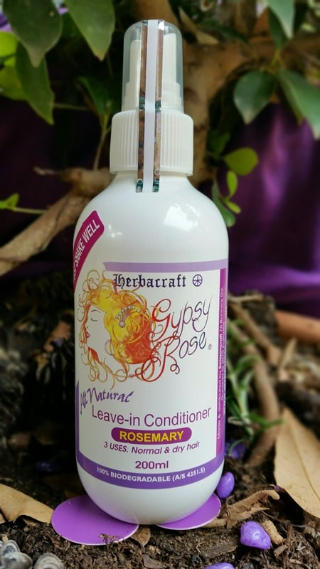 Gypsy Rose Rosemary Leave In Conditioner